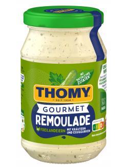 Thomy Gourmet Remoulade raffiniert mit Kräutern und Gurkenstücken  (250 ml) - 4005500087113