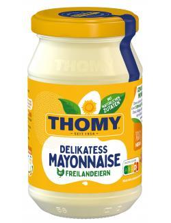 Thomy Delikatess-Mayonnaise mit reinem Sonnenblumen�l  (250 ml) - 4005500087038
