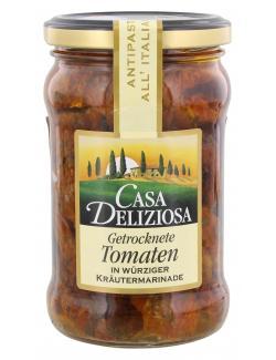Feinkost Dittmann Casa Deliziosa getrocknete Tomaten in Kräutermarinade  (165 g) - 4002239919005