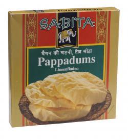 Sabita Pappadums  (200 g) - 4013200860615