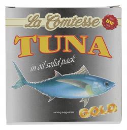 La Comtesse Thunfischfilets weiß in Öl  (150 g) - 4008314120502
