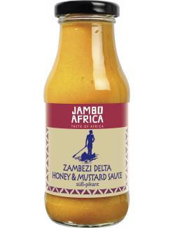 Jambo Africa Zambezi Delta Honey & Mustard Sauce s��-pikant  (250 ml) - 4013200500047