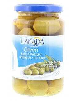 Liakada Grüne Oliven extra groß  (200 g) - 4013200105426