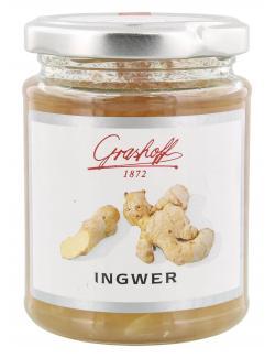 Grashoff Konfitüre extra Ingwer  (250 g) - 4006375000238