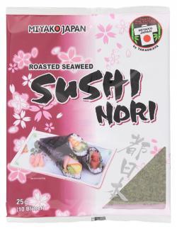 Miyako Japan Sushi Nori roasted Seaweed  (25 g) - 4901963000969