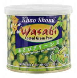 Khao Shong Gr�ne Erbsen mit Wasabi  (140 g) - 8850043140018