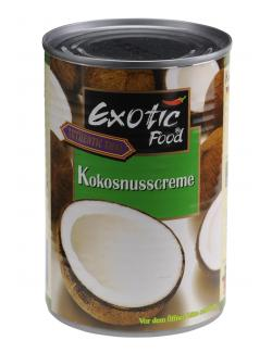 Exotic Food Kokosnusscreme  (400 ml) - 8853662002125