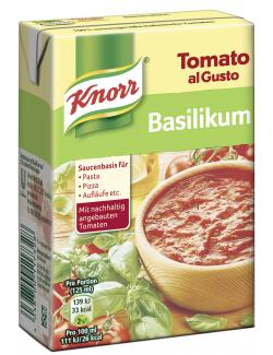 Knorr Tomato al Gusto Basilikum  (370 g) - 4038700117328