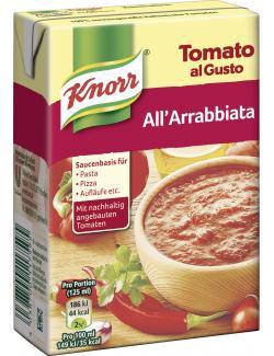 Knorr Tomato al Gusto Arrabbiata  (370 g) - 4038700117595