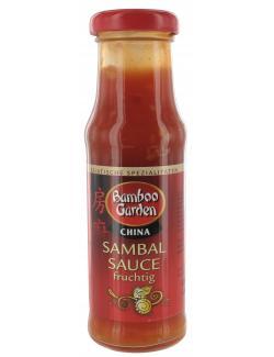 Bamboo Garden Sambal Sauce fruchtig  (155 ml) - 4023900538851