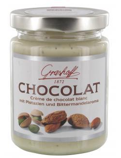 Grashoff Chocolat blanc mit Pistazien & Bittermandelaroma  (235 g) - 4006375008166