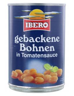 Ibero Gebackene Bohnen in Tomatensauce  (400 g) - 4013200108601