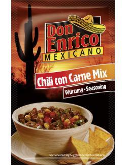 Don Enrico Chili Con Carne-Mix  (40 g) - 4013200781545