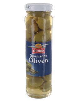 Ibero Spanische grüne Oliven mit Stein  (85 g) - 4013200555191