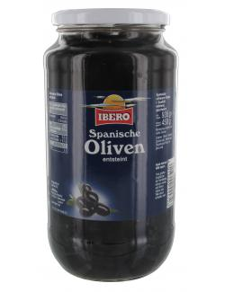 Ibero Spanische geschw�rzte Oliven entsteint  (450 g) - 4013200555726