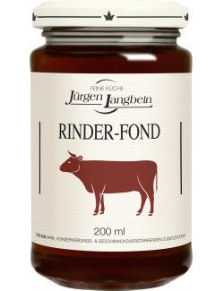 Jürgen Langbein Rinder-Fond  (200 ml) - 4007680105212
