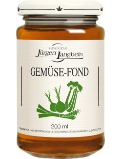 J�rgen Langbein Gem�se-Fond  (200 ml) - 4007680105250