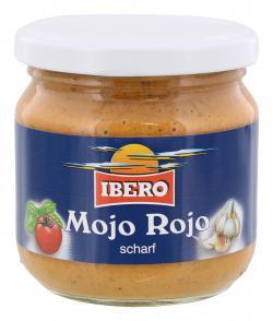 Ibero Mojo Rojo Rote Würzsauce scharf  (185 ml) - 4013200552503