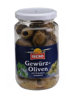 Ibero Gr�ne Gew�rzoliven mit Kr�utern entsteint  (370 ml) - 4013200555887