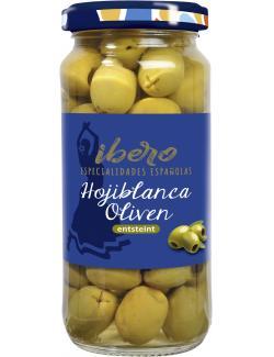 Ibero Spanische gr�ne Oliven entsteint  (100 g) - 4013200555344