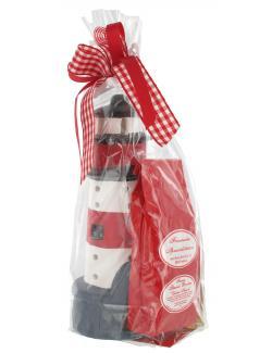 Heiko Blume Friesische Teespezialit�ten Geschenkpackung Leuchtturm rot  - 4101040009179