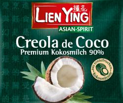 Lien Ying Creola de Coco Premium Kokosmilch  (200 ml) - 4013200883324