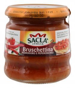 Sacla Bruschettina Pomodoro e Peperoncino  (190 g) - 8001060008472