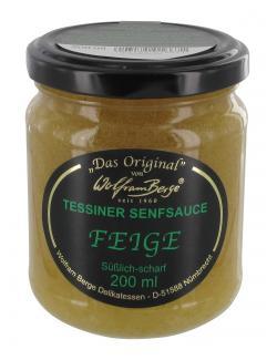 Wolfram Berge Original Tessiner Senfsauce Feige  (200 ml) - 4003185016671