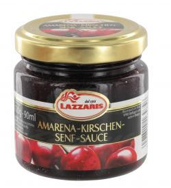 Lazzaris Amarena-Kirschen-Senf-Sauce  (120 g) - 4008314164858