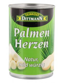 Feinkost Dittmann Palmenherzen natur, mild w�rzig  (220 g) - 4002239684002