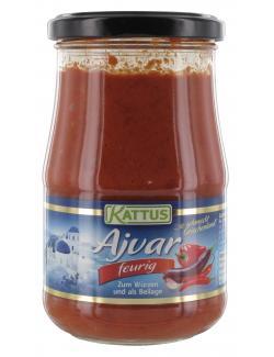 Kattus Ajvar Paprikak�che Feurig  (330 g) - 4023900771388