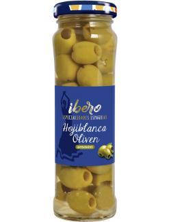 Ibero Spanische gr�ne Oliven ensteint  (65 g) - 4013200555207
