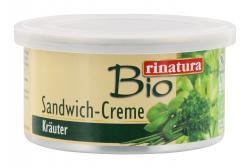 Rinatura Bio Sandwich-Creme Kräuter  (125 g) - 4013200255220