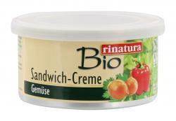 Rinatura Bio Sandwich-Creme Gemüse  (125 g) - 4013200255190