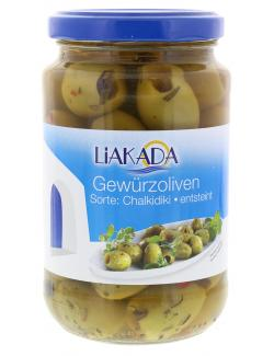 Liakada Grüne Gewürzoliven entsteint  (170 g) - 4013200105464