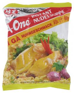 A-One Instant Nudelsuppe Huhngeschmack  (85 g) - 8934684026754