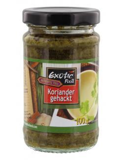 Exotic Food Koriander Gehackt  (100 g) - 8853662041261