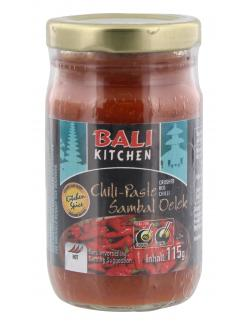Bali Kitchen Chili-Paste Sambal Oelek  (115 g) - 8995899450826