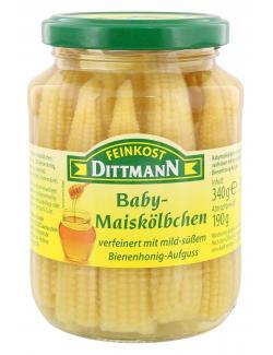 Feinkost Dittmann Baby-Maiskölbchen  (190 g) - 4002239614528