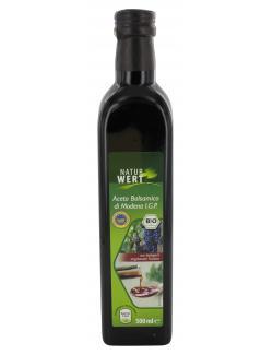 NaturWert Bio Aceto Balsamico di Modena I.G.P  (500 ml) - 4250780308551