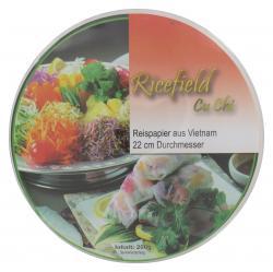 Ricefield Cu Chi Reispapier  (200 g) - 4316734047881