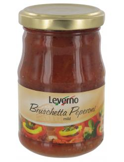 Leverno Bruschetta Peperoni mild  (180 g) - 4013200334819