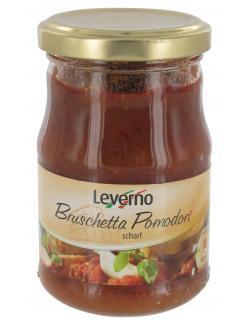 Leverno Bruschetta Pomodori scharf  (180 g) - 4013200334833