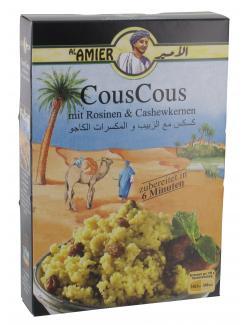 Al Amier CousCous mit Rosinen & Cashewkernen  (200 g) - 4013200382094