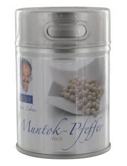 Johann Lafer Muntok-Pfeffer wei�  (75 g) - 4260125363329