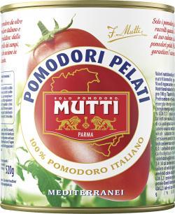 Mutti Pomodori Pelati Sch�ltomaten  (800 g) - 8005110050008