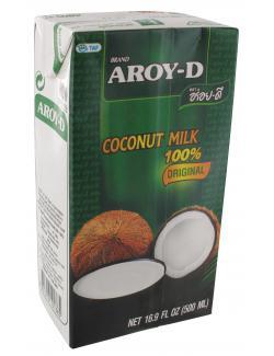 Aroy-D Kokosnussmilch  (500 ml) - 8851613101385