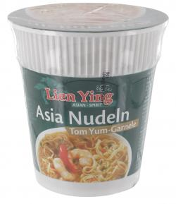 Lien Ying Asia Nudeln Tom Yum-Garnele  (55 g) - 4013200883188