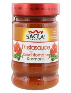 Sacla Italia Sugo Kirschtomaten & Rosmarin  (190 g) - 8001060018082