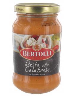 Bertolli Pesto alla Calabrese mit Peperoni & Ricotta  (185 g) - 4000400134493